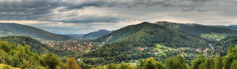 Panoramic-view-on-Yaremche